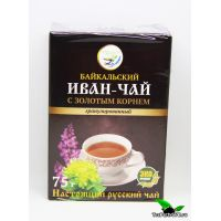 Иван-чай гранулированный с золотым корнем, 75г