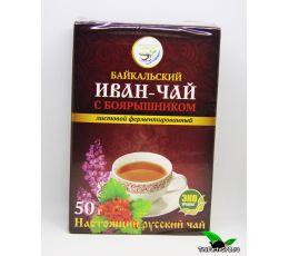 Иван-чай листовой с боярышником, 50г