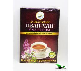 Иван-чай листовой с чабрецом, 50г