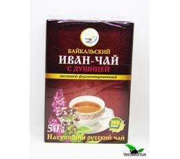 Иван-чай листовой с душицей, 50г