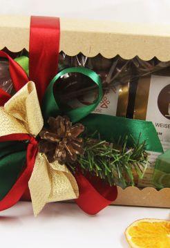 """Корпоративный подарочный набор с чаем - """"Новый год """""""