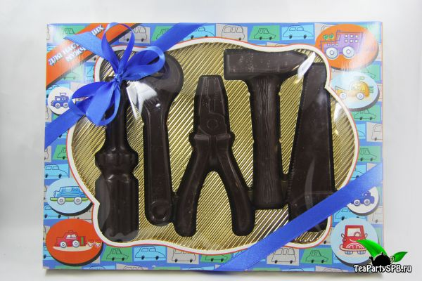 Набор подарочный шоколадный - «Инструменты»