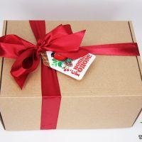 Новогодний чайный набор «Чайная посылка»