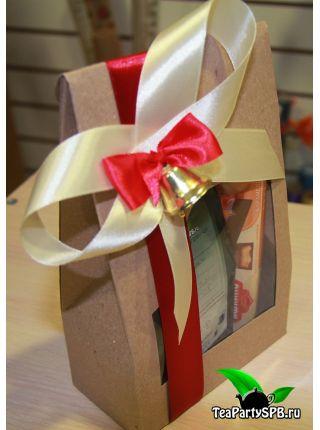 """Подарочная коробочка из чая и сладостей - """"Последний звонок"""""""