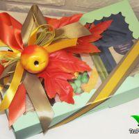 """Подарочная коробочка с чаем - """"Дары осени"""""""