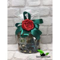 Подарочный набор - 2 вида чая и конфеты