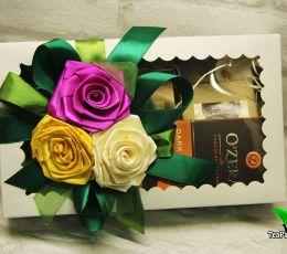 Подарочный набор «Чайная весна» (чай, шоколад)