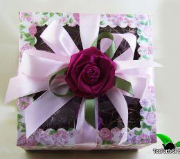 Подарочный набор из чая и сладостей - «Чайный десерт»