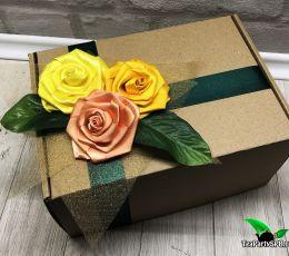 Подарочный набор из чая и сладостей - «Приятный сюрприз»
