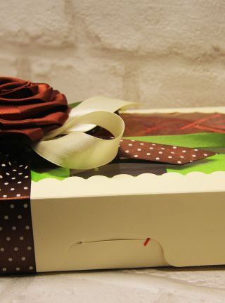 Подарочный набор «Все дело в кофе» (кофе, шоколад)