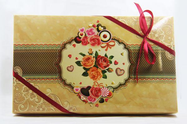 Подарок на 8 марта с чаем и сладостями  - «Женские радости»