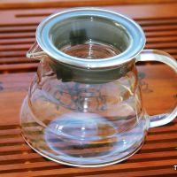 """Стеклянный чайник из жаропрочного стекла """"Облако"""", объем 360 мл"""
