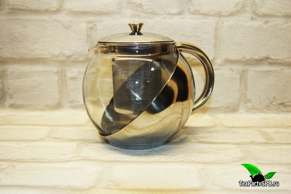 Заварочный чайник стекло, 900мл