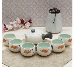 Набор посуды для чайной церемонии №12 (7 предметов, чайник 180мл, пиала 70мл)