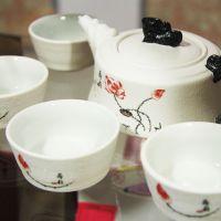 Набор посуды для чайной церемонии №14 (чайник и 6 пиал)