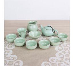 Набор посуды для чайной церемонии №8 (9 предметов, чайник 150мл, пиалы 50мл)