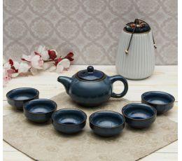 Набор посуды для чайной церемонии №9 (7 предметов, чайник, пиалы 6шт)