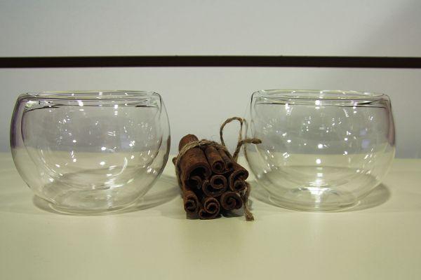 Большая стеклянная пиала для чая, объем 150 мл