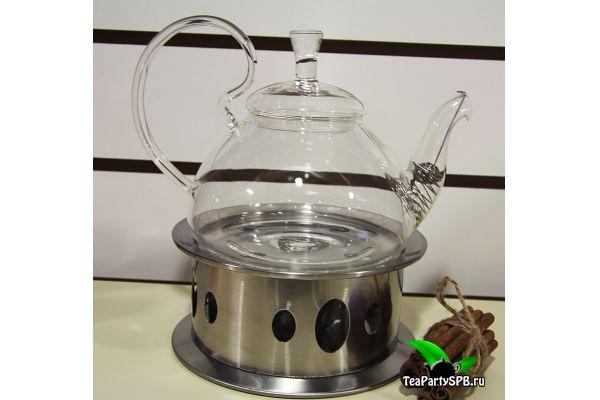 Подставка, подогрев для стеклянного чайника