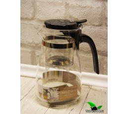 Чайник с кнопкой Типод Kamjove Art Tea Cup, 750мл
