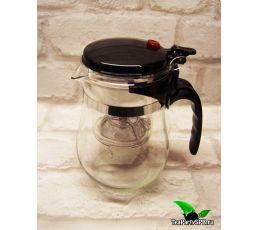 Чайник заварочный ГунФу с кнопкой, типод(типот), 500мл