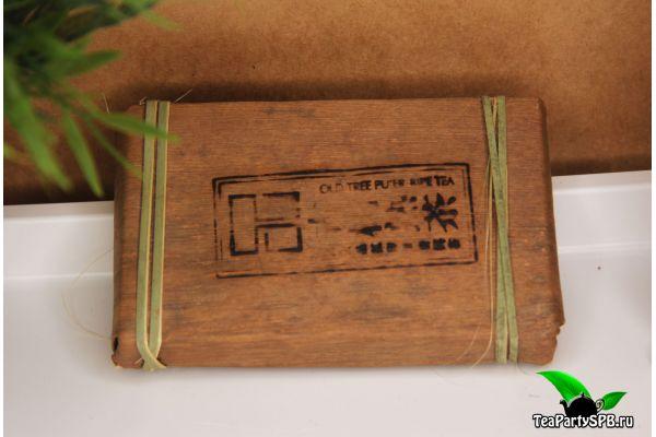 Шу пуэр в бамбуке, 250г