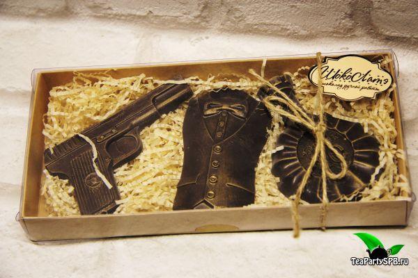 """Шоколадный набор """"Джеймс Бонд"""""""