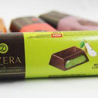 Шоколадный батончик с грушевой начинкой «O`Zera» Milk Pear, 50г