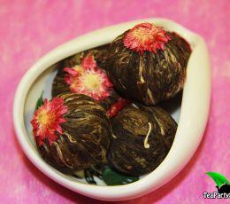 Огненный Цветок (Связанный чай), ароматизированный