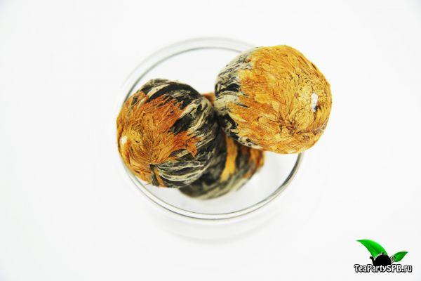 Связанный чай Хуан Хуа Ли Чжи