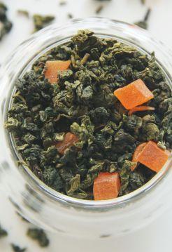 Персиковый улун (с кусочками персика)