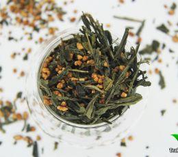 Сенча с рисом ( зеленый чай - Генмайча)