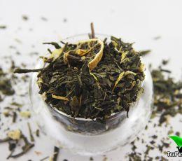 Зеленый ароматизированный чай - Африканский кактус