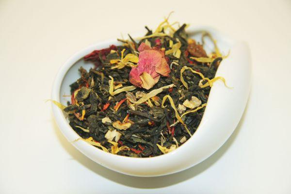Зеленый ароматизированный чай - Девять драконов