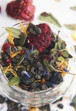 Зеленый ароматизированный чай - Таежный сбор