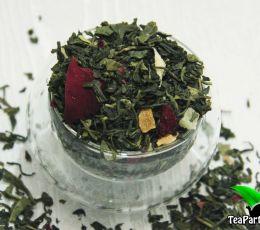 Зеленый ароматизированный чай - Тропикана