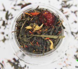 Зеленый ароматизированный чай - Цветущая сакура