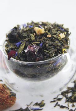 Зеленый ароматизированный чай - В саду у бабушки