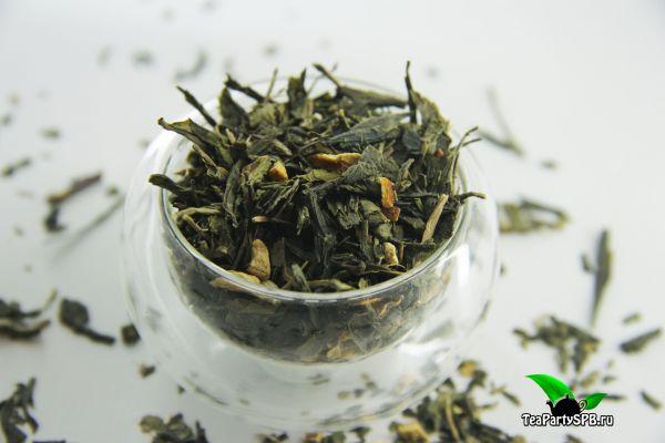 Зеленый ароматизированный чай - Зеленый Цитрус