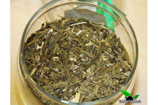 Зеленый чай с мятой и лавандой