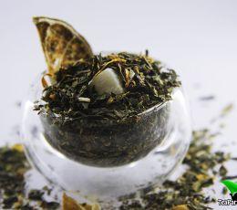 Зеленый ароматизированный чай - Мохито