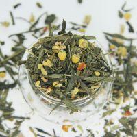 Зеленый ароматизированный чай - Японская липа